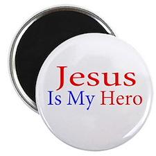 """Jesus is my Hero 2.25"""" Magnet (10 pack)"""