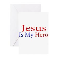 Jesus is my Hero Greeting Cards (Pk of 20)