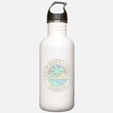 Vintage Palm Beach County Sports Water Bottle