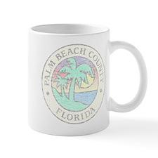 Vintage Palm Beach County Mug