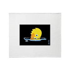 Duckkyyy!!!! Throw Blanket