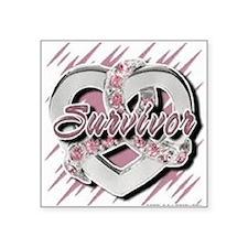 Survivor in Heart Sticker