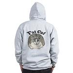 Fat Cat Zip Hoodie