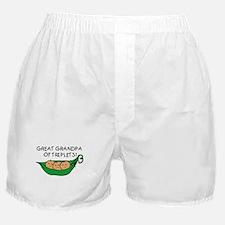 Great Grandpa of Triplets Boxer Shorts