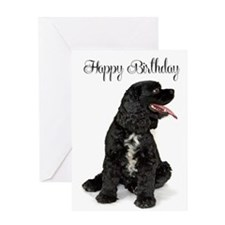 Cocker Spaniel Birthday Greeting Card