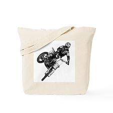 Dirt bike High Flying Tote Bag