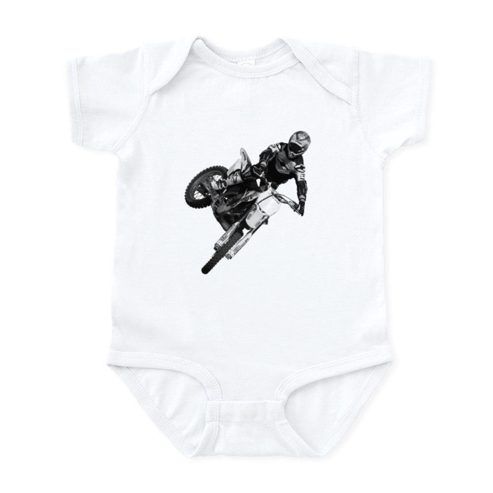 85963841 CafePress Dirt Bike High Flying Infant Bodysuit Baby Bodysuit