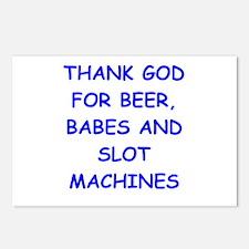 slots Postcards (Package of 8)
