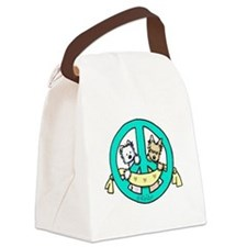 Terriers For Peace Canvas Lunch Bag
