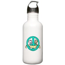 Terriers For Peace Water Bottle