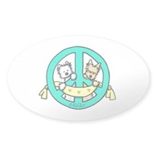 Terriers For Peace Decal