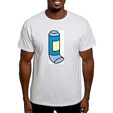 Inhaler Ash Grey T-Shirt