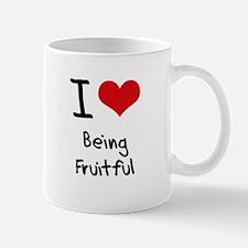 I Love Being Fruitful Mug
