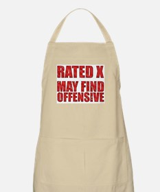 Rated X BBQ Apron