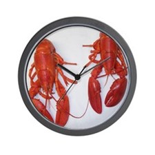 Twin Lobsters Merchandise Wall Clock