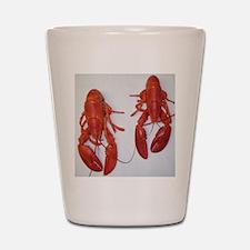 Twin Lobsters Merchandise Shot Glass
