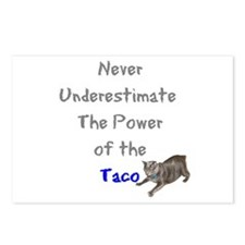Power of the Taco Postcards (Package of 8)