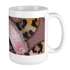 Leopards and Lace - Pink Mug