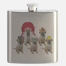 Village Puggles Flask