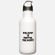 mental malware Water Bottle