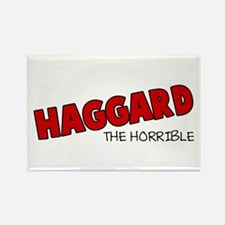 Haggard the Horrible Rectangle Magnet