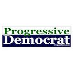 Progressive Democrat Bumper Sticker
