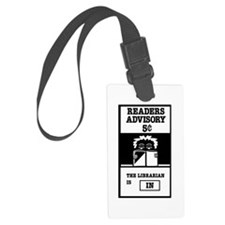 Librarian Luggage Tag