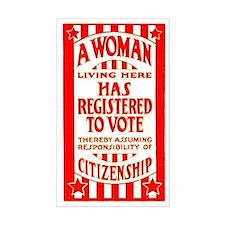Citizenship Door Decal