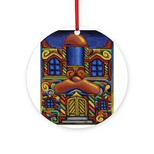 City House Ornament (Round)