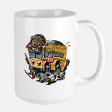 DUCK HUNTING schoolbus Mugs