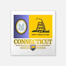 Connecticut Gadsden Flag Sticker