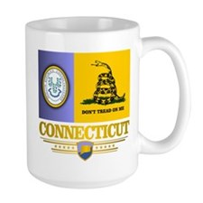 Connecticut Gadsden Flag Mug