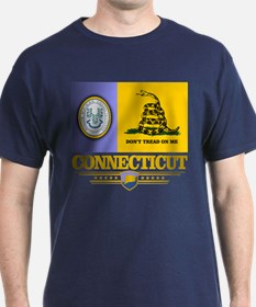 Connecticut Gadsden Flag T-Shirt