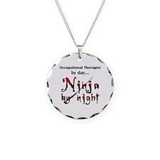 Occupational Therapist Ninja Necklace