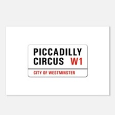 Piccadilly Circus, London - UK Postcards (Package