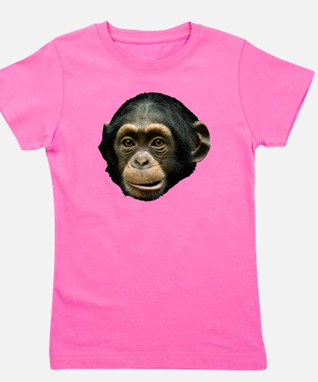 Chimpanzee Girl's Tee