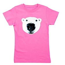 Polar Bear Sniff Girl's Tee