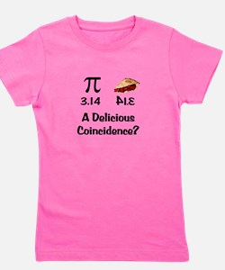 Pi Coincidence Girl's Tee