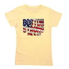 Boston Strong Flag Girl's Tee