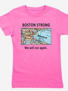 Boston Strong Map Girl's Tee