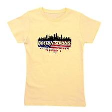 Boston Strong Marathon Girl's Tee