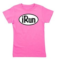 iRun Oval Girl's Tee