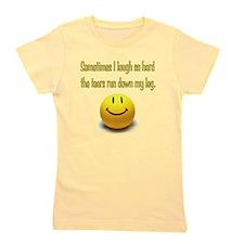 Laugh Hard Girl's Tee