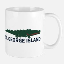 St. George Island - Alligator Design. Mug