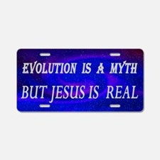Evolution Myth Aluminum License Plate