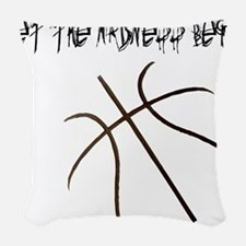 Let the Madness Begin! Woven Throw Pillow