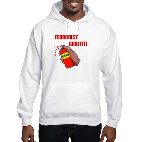 TERRORIST GRAFITTI Hooded Sweatshirt