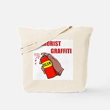 TERRORIST GRAFITTI Tote Bag
