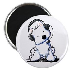"Call Center Westie 2.25"" Magnet (10 pack)"