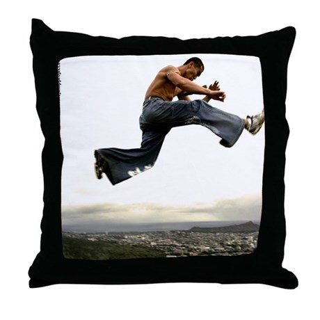 """Zero Gravity #2"" Throw Pillow by TJP"